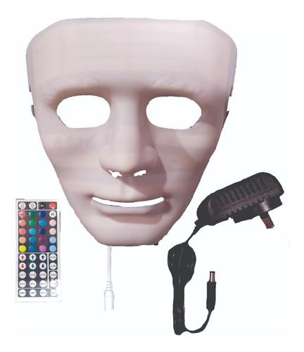 Máscara Facial Led 20 Colores + Taller Luminoterapia.digilan