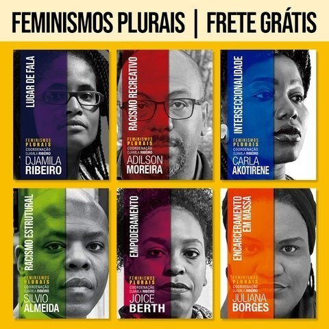 Coleção Feminismo Plurais - 6 Livros