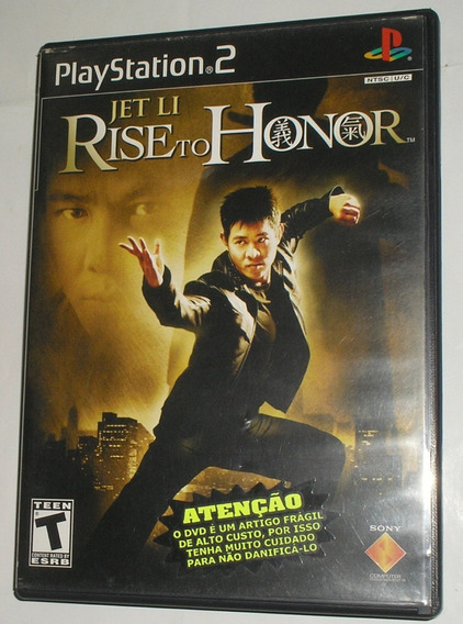 Jet Li Rise To Honor Ps2 Original Usado
