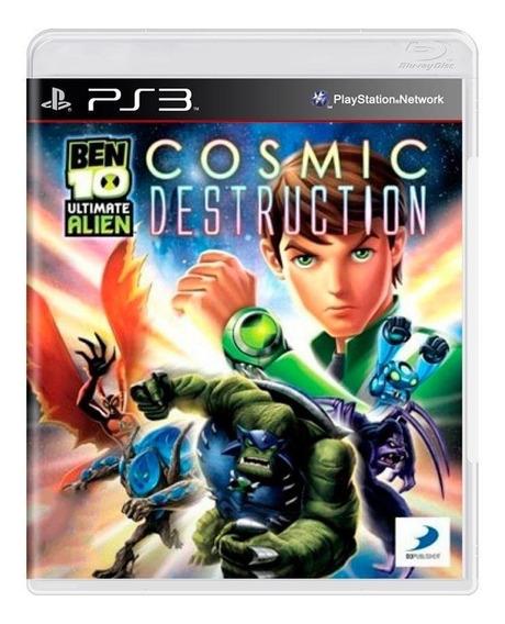 Ben 10 Ultimate Alien Cosmic Destruction Ps3 Midia Fisica