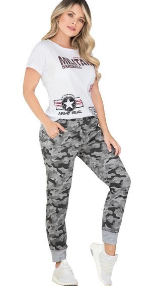 Conjunto Deportivo Jogger Y Sudadera Blusa Manga Corta Mujer