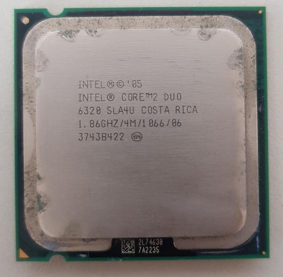 Processador Intel Core 2 Duo 6320 1.86 Ghz Lga 775 No Estado