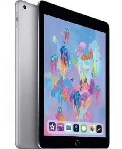 Tablet Apple iPad 9.7 Wifi Com 4g (2018) 32 Gb Cinza
