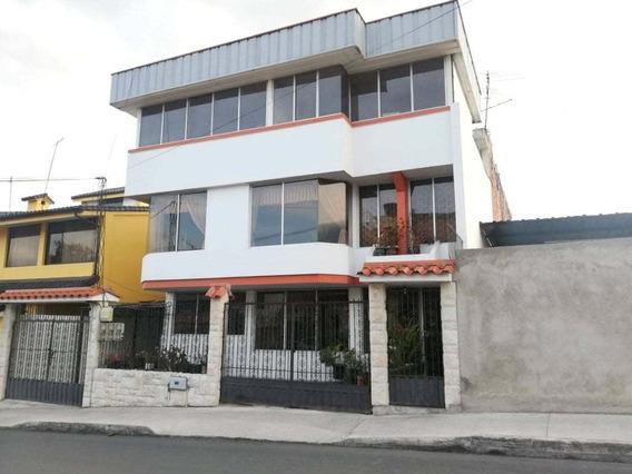 Casa Rentera En Venta Riobamba Sector Bellavista