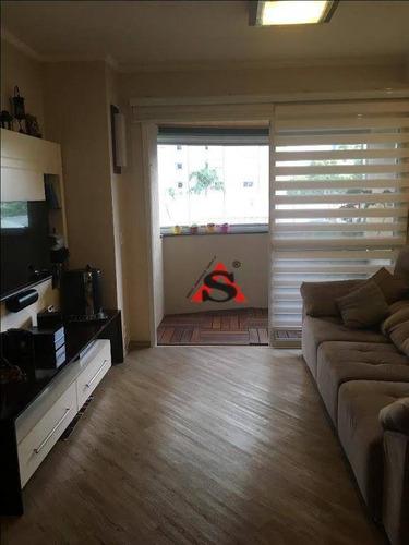 Apartamento Com 3 Dormitórios À Venda, 70 M² Por R$ 640.000,00 - Ipiranga - São Paulo/sp - Ap40699