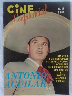 Cine Confidencial Antonio Aguilar 1969 Revista
