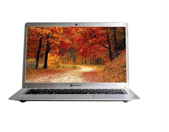 Notebook Goldentec Gt Silver Intel® Celeron, 4gb, Ssd 64gb,