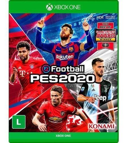 Jogo Efootball Pes 2020 Pro Evolution Soccer 2020 Xbox One