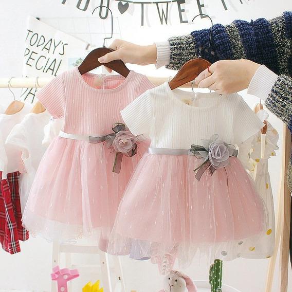Vestido Festa Infantil Bebê Menina