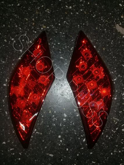 Jogo 2 Lanterna Vigia Traseira Marcopolo G7 Leds
