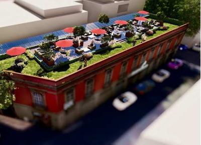 Piso De Oficinas Con Roof Garden Junto A Reforma