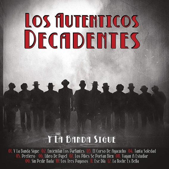 Cd+dvd Sellado Original Autenticos Decadentes La Banda Sigue