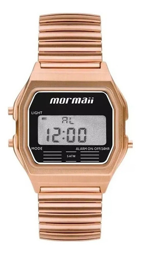 Relógio Mormaii Digital Vintage Unissex Mojh02ax/4j Original