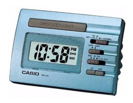 Despertador Casio Dq541 Azul Novo Original Na Caixa