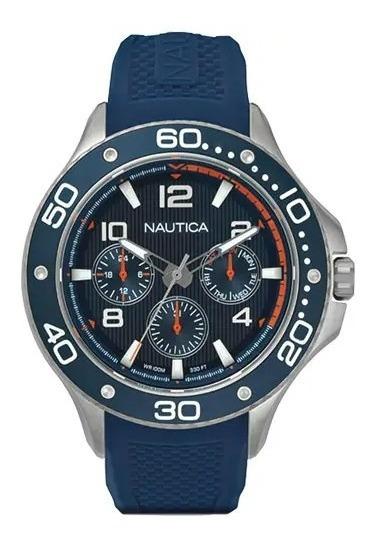 Relógio Nautica Blue And Orange