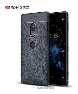 Estuche,funda,carcasa Sony Xperia Xz2 Azul Oscuro