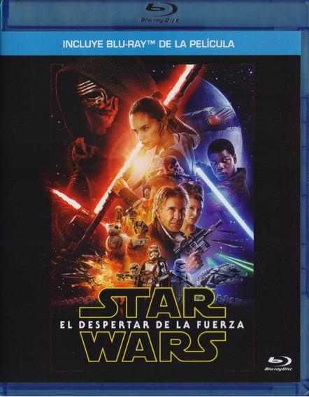 Star Wars Episodio 7 El Despertar De La Fuerza Blu-ray