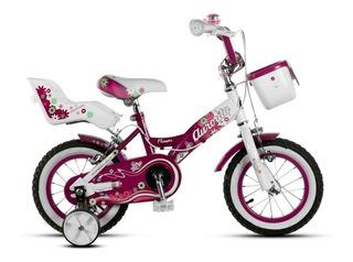 Bicicleta Aurorita Infantil Rodado 12 Flower