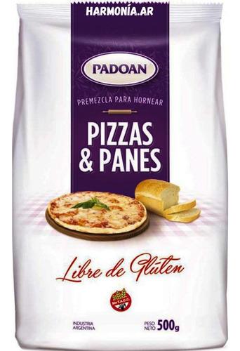10 U Padoan P/pan Y Pizza Sin Tacc Libre De Gluten P/celíaco