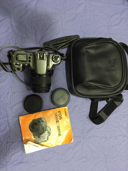 Câmera Canon Eos 3000 Pouquíssimo Uso