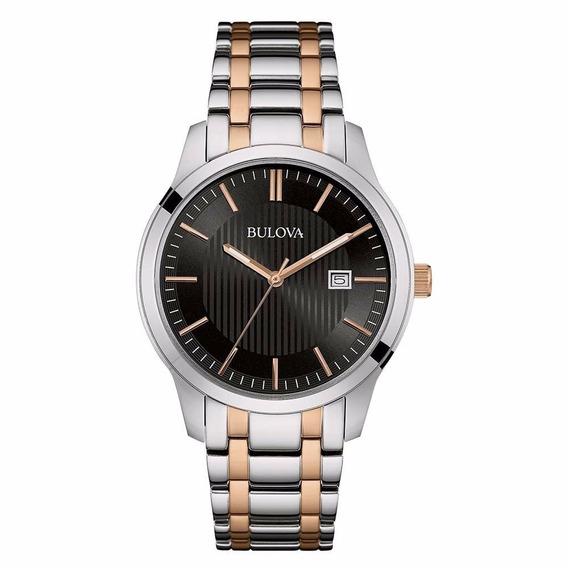 Relógio Bulova Masculino Calendário - Referência - 98b264