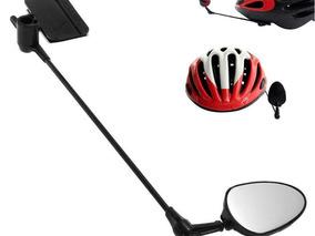 Espelho Retrovisor Bike Para Ser Colado No Capacete