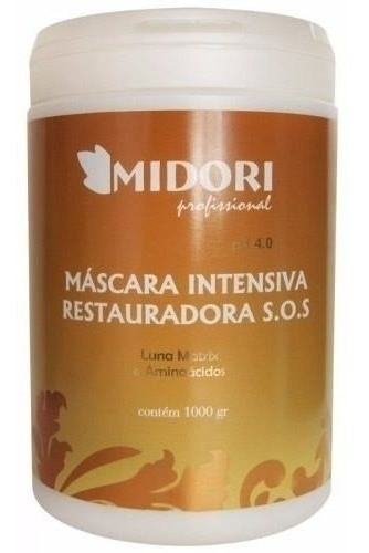 Hidratação Fast Máscara Intensiva S O S Midori + Brinde