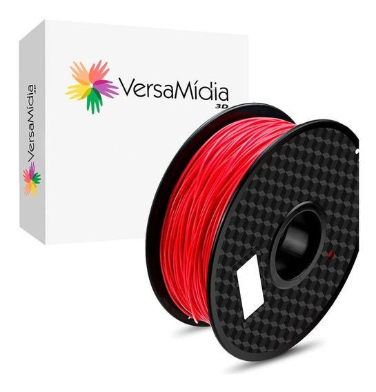 Filamento Pla Versamídia 3d Vermelho - Cod. 11530