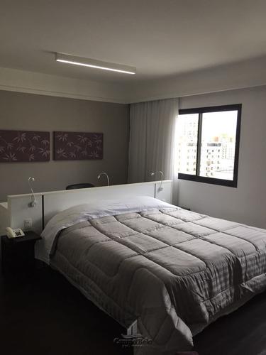Imagem 1 de 15 de Flat Mobiliado Moema 1 Dormitório Locação 35m2 - Fl021-2