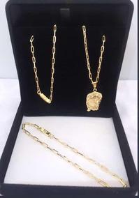 Correntes Cartier Banhada A Ouro 18k