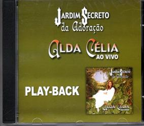 Cd Alda Célia - Jardim Secreto Ao Vivo - Playback