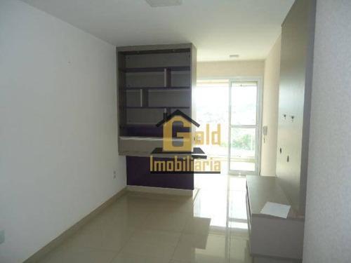 Imagem 1 de 16 de Apartamento Com Varanda Gourmet, 2 Dormitórios, 1 Suite, Armários - Jardim Paulistano - Ribeirão Preto-s.p. - Ap2399