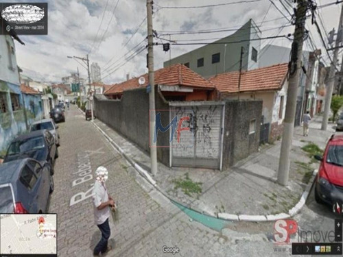 Imagem 1 de 2 de Id 6512 - Terreno  Com 220 M2 Próximo Do Sesc Belenzinho E A 300 Mst Do Metro Belém! Estuda Propostas. - 6512