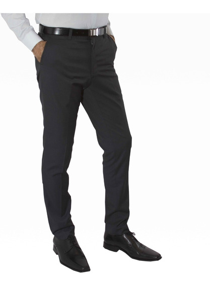 Pantalon Vestir Chupin Con Spandex Jean Cartier Original