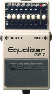 Pedal De Guitarra Boss Ge7 Ecualizador