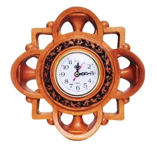 Relógio De Madeira, Nobre, Entalhe, De Parede,decoração