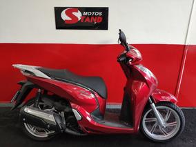 Honda Sh 300i 300 I Abs 2018 Vermelha Vermelho