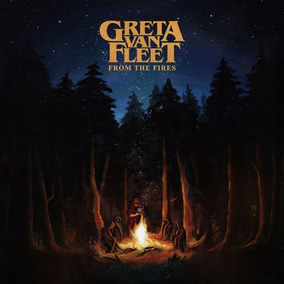 Greta Van Fleet From The Fires Vinilo Lp Nuevo En Stock