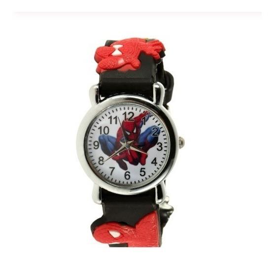 Relógio Infantil De Pulso Homem Aranha Menino Super Herói