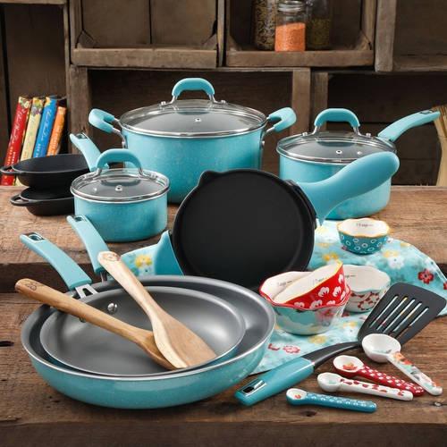Set De 24 Utensilios De Cocina The Pioneer Woman, Diseño