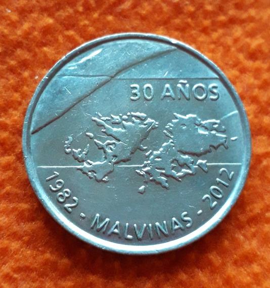 Medalla Casa De Monedas Homenaje A Las Islas Malvinas
