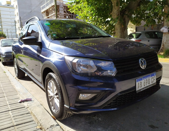 Volkswagen Saveiro 1.6 Cd Pack High Azul Noche 36000 Km