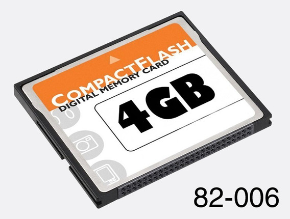 Cartao De Memoria 4 Gb Cf Compactflash