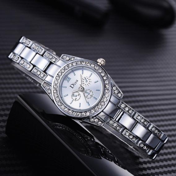 Ds055ds055 Relógios De Quartzo Aço Inoxidável