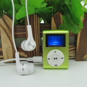 Mini Mp3 Player Com Rádio E Entrada Pra Cartão De Memórias