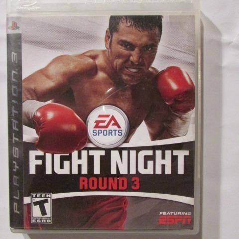 Jogo Ps3 Fight Night Round 3 - Ea Sports Mídia Física