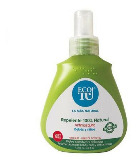 Repelente Para Bebé 100% Natural 200ml Ecotu