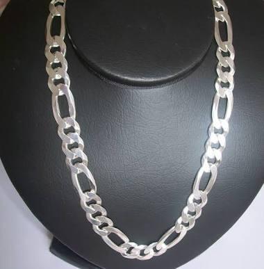 Corrente Prata 925 Italiana Masculina