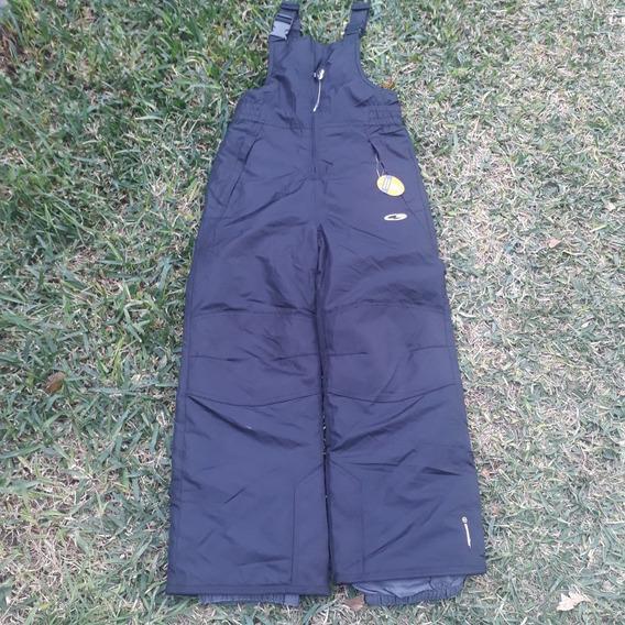 Pantalon Para Nieve Talla 6/7 Niños Insulado Frio Montaña