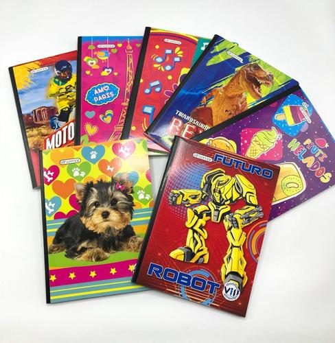 Cuaderno Cosido X 100h Libreta Kits Escolar Regleta Lineas